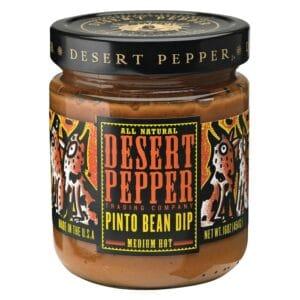 Desert Pinto Bean Dip Pepper