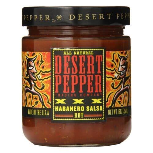 Desert XXX Fire Roasted Habanero Salsa Pepper