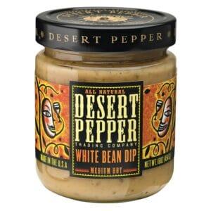 Desert Tuscan White Bean Dip Pepper