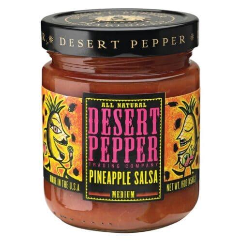 Desert Pineapple Salsa Pepper
