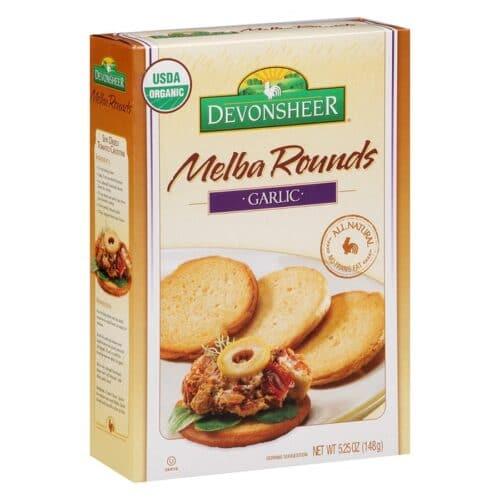 Devon. Melba Round Organic - Garlic