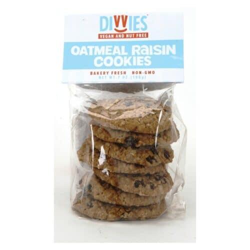 Divvies Cookies Oatmeal Raisin(652657)