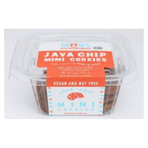 Divvies Cookies Mini Java Chip
