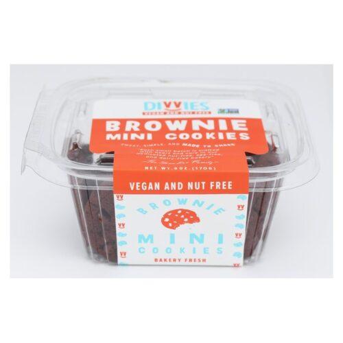 Divvies Cookies Mini Chocolate Brownie