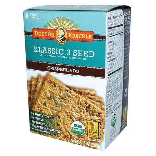 Doctor Kracker Flatbread Klassic 3 Seed