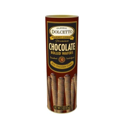 Dolcetto Rolled Wafer Chocolate