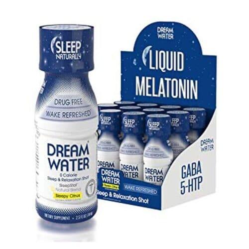 Dream Water, Sleep Easy, Sleepy Citrus