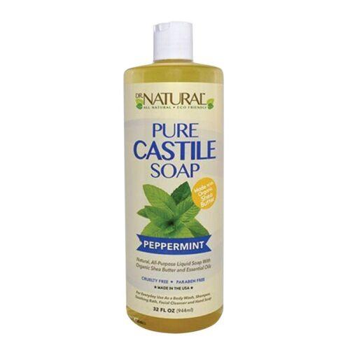 Dr. Natural Pure Castile Soap Peppermint