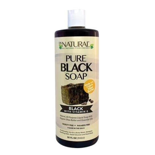 Dr. Natural Pure Black Soap