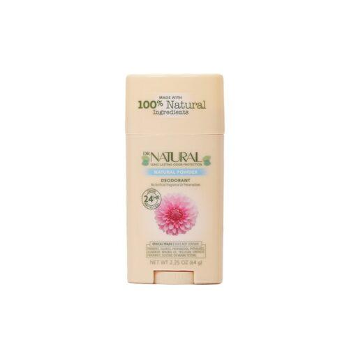 Dr. Natural Deodorant Stick Natural Powder