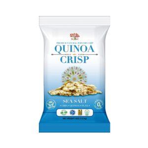 Dr.Snack Quinoa Crisp Sea Salt