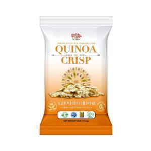 Dr.Snack Quinoa Crisp White Cheddar