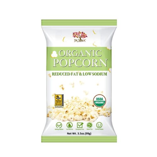 Dr. Snack Organic Popcorn Reduced Fat & Low Sodium