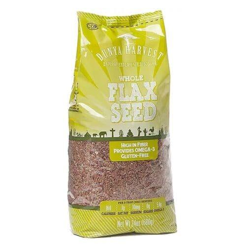 Dunya Harvest Flax Seed (4/24oz)
