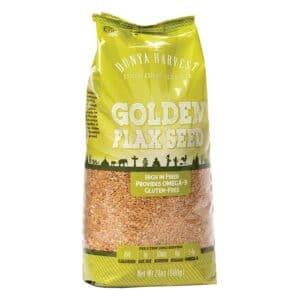 Dunya Harvest Golden Flax Seed (4/24oz)
