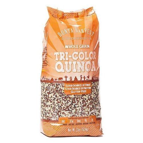 Dunya Harvest Tri Color Quinoa (4/24oz)