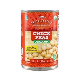 Dunya Harvest Organic Canned Chick Peas
