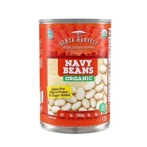 Dunya Harvest Organic Canned Navy Beans