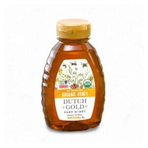 Dutch Gold Organic Pure Honey Container