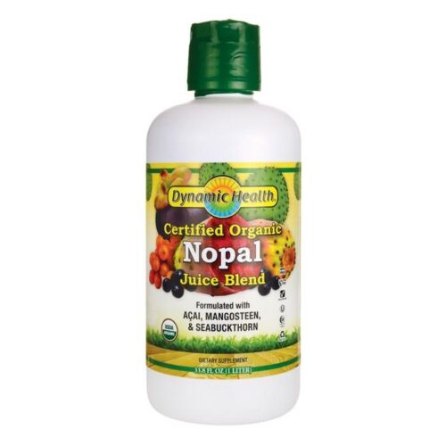 Dynamic Health Organic Certified Nopal Juice Blend (Plastic)