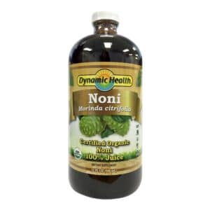 Dynamic Health Organic Noni Morinda Citrifolia (Glass)