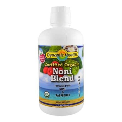 Dynamic Health Organic Noni Blend (16oz, Plastic)