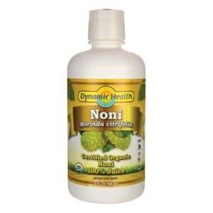 Dynamic Health Organic Noni Morinda Citrifolia (Plastic)