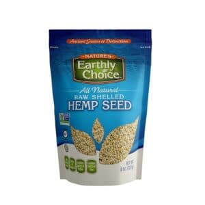 Earthly Choice Raw Shelled Hemp Seed