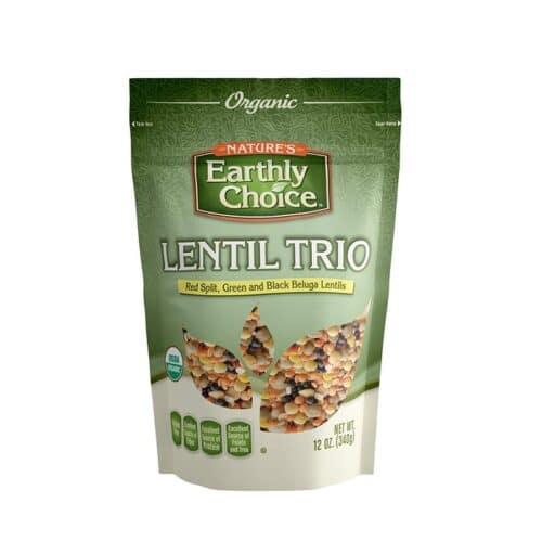 Earthly Choice Organic Lentil Trio
