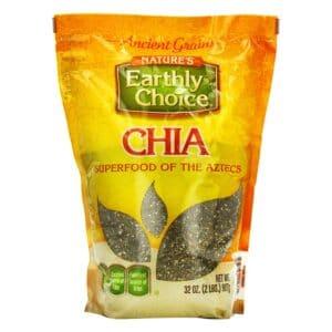 Earthly Choice Black Chia Seed(6/32oz)