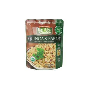 Earthly Choice Org. Quinoa & Barley Grain Blend (Microwavable)