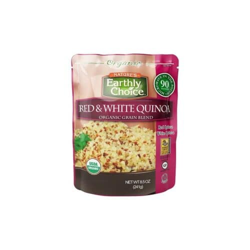 Earthly Choice Org. Red & White Quinoa Grain Blend (Microwavable)