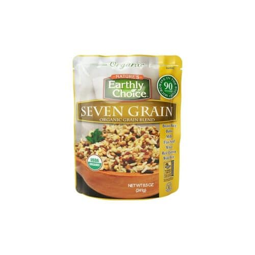 Earthly Choice Org. Seven Grain Blend (Microwavable)