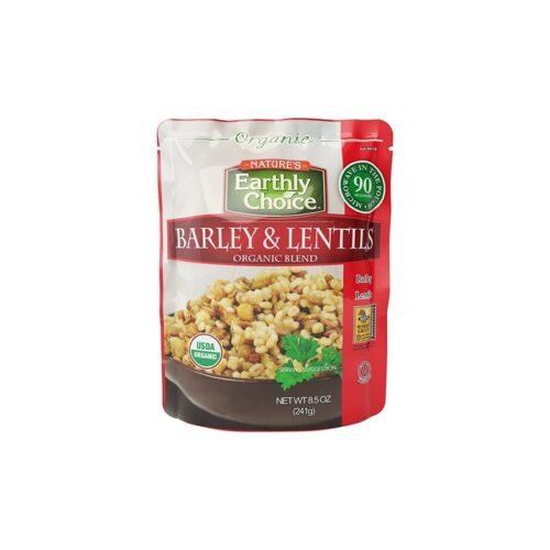 Earthly Choice Org. Barley & Lentils Blend (Microwavable)