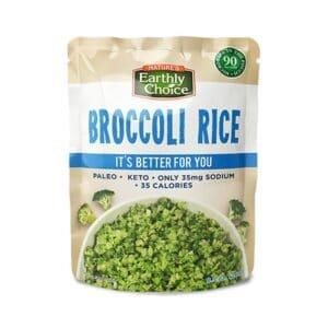Earthly Choice Org. Broccoli Rice (Microwavable)