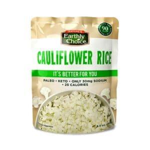 Earthly Choice Org. Cauliflower Rice (Microwavable)