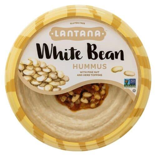 Lantana Embrace Life White Bean Hummus Roasted Pine Nuts & Herbs