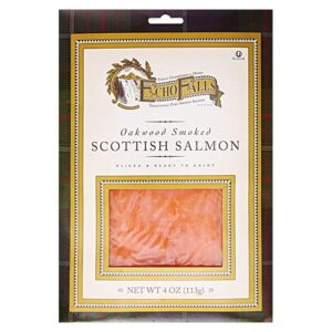 Echo Falls Scottish Salmon (Oakwood Smoked)(12/4oz) #17110204