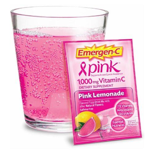 Emergen-C PINK Lemonade (30Packets)