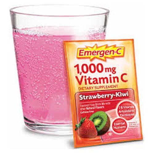Emergen-C Strawberry Kiwi (30Packets)