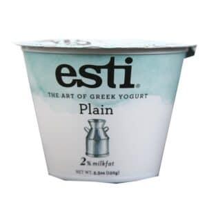 Esti Greek Yogurt 2% Milkfat Plain