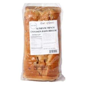 Euro Classic Brioche Sliced Cinnamon & Raisin[7pk]
