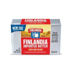 Finlandia Butter Unsalted 8oz (20 PC)