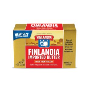 Finlandia Butter Perfectly Salted 8oz (20 PC)