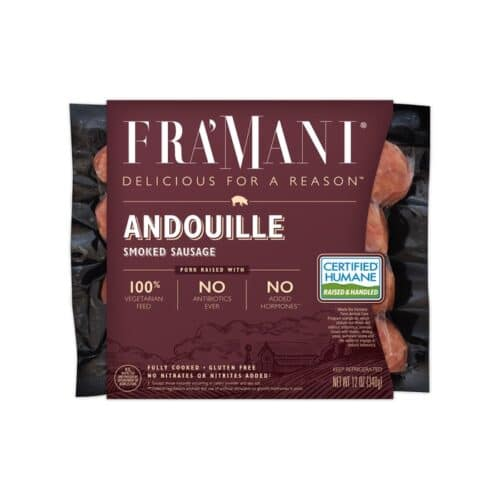 FraMani Smoked Sausage Andouille(8pc)
