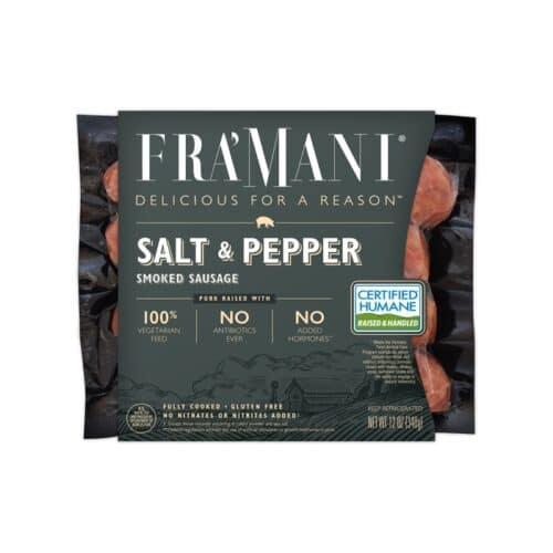 FraMani Smoked Sausage Salt & Pepper(8pc)