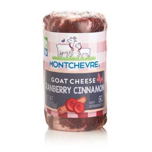 Chevre Montchevre Fresh Goat Cheese Log - Cranberry/Cinn [12pc]