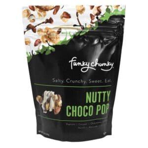Funky Chunky Nutty Choco Popcorn