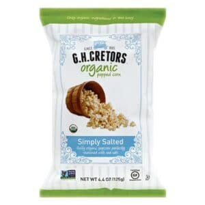 G.H. Cretors Organic Simply Salted