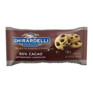 Ghirardelli Baking Chips 60% Bittersweet Chocolate